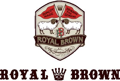 ROYALBROWN (ロイヤルブラウン) | 英国の100年以上続く、伝統ある生地を使用した最上級のバックブランド。